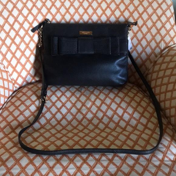 kate spade Handbags - New Kate Spade Black Leather Crossbody Bag
